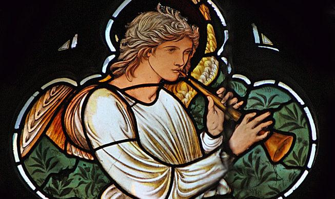 angelic trumpeter